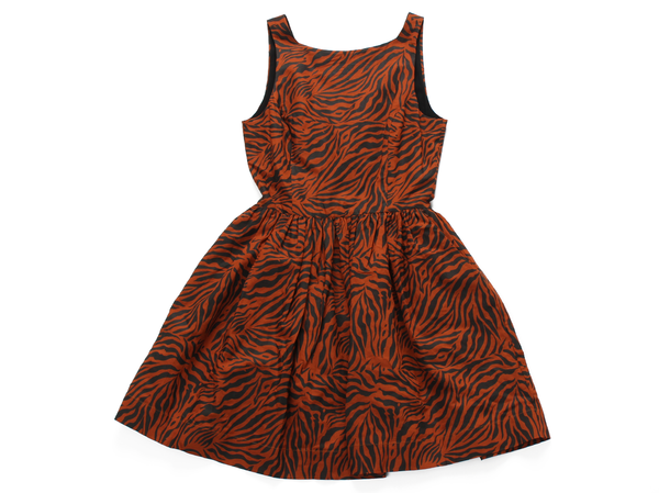 Kinetic Back Button Dress