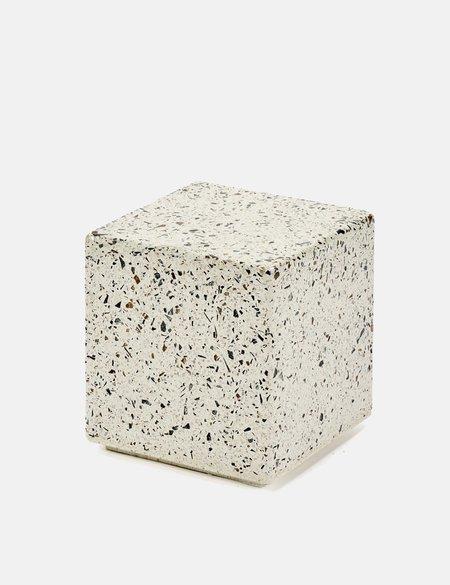 Serax Terrazzo Small Square Side Table - Grey