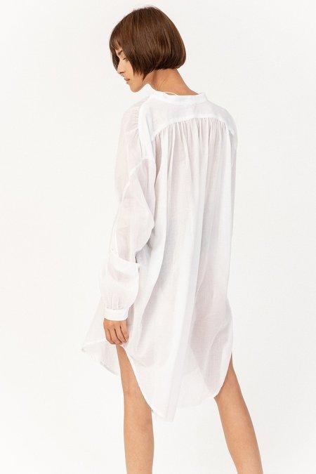 Skin Brea Caftan - White