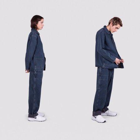 Unisex I AND ME Worker Chore Jacket - Dark Indigo