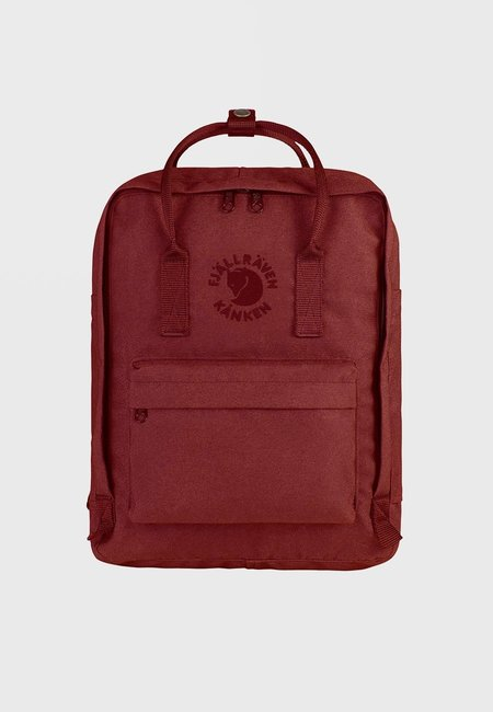 Unisex Fjallraven Re-Kanken Backpack - Ox Red
