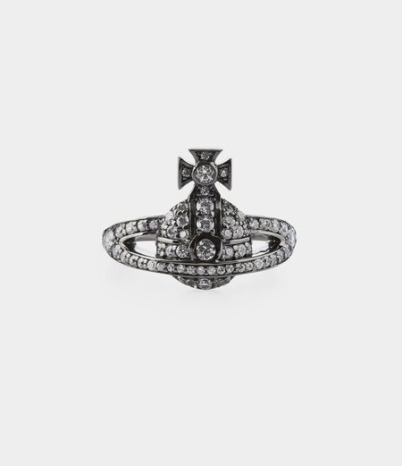 Vivienne Westwood Mini Orb Ring - SILVER