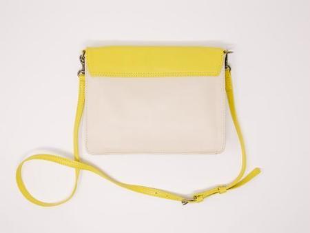Payton James Leather Wallet Crossbody - Yellow
