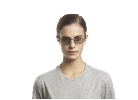 UNISEX Le Specs Electricool Sunglasses - Gold/Grey