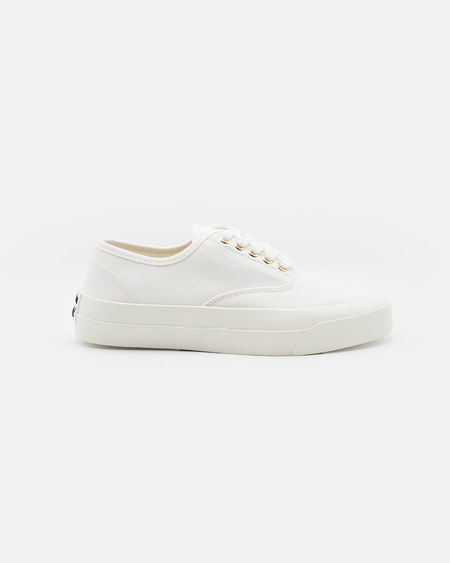 Maison Kistunè Canvas Laced Sneakers - white