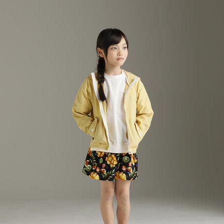 Kid's unisex Arch & Line Lightweight Parka - yellow