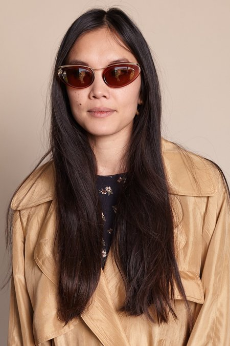Raen Musing Sunglasses - Light Gold Cinnamon