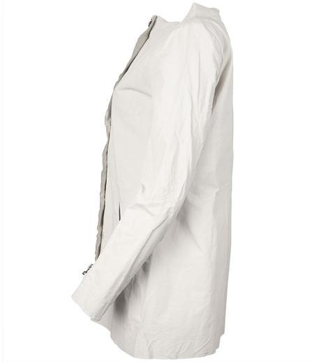 Anika Lenaskarstrom Linen Coat - White