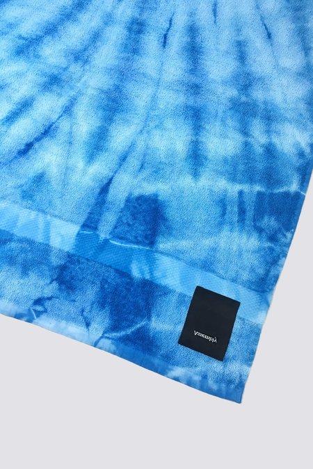 Assembly Tie Dye Towel - Blue