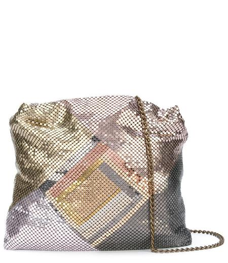 Laura B Maya Bag - Pink/Gold/Graphite