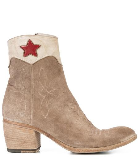 Fauzian Jeunesse Ankle Boot with Star Detail - Saddle