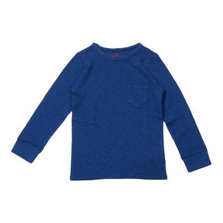 KIDS Bonton Long Sleeved T-shirt - Klein Blue