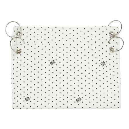 KIDS Bonton Stroller Bag - Cream With Stars