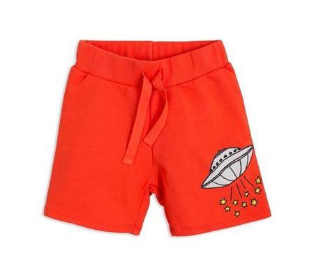 Kids Mini Rodini UFO Sweatshorts - Red