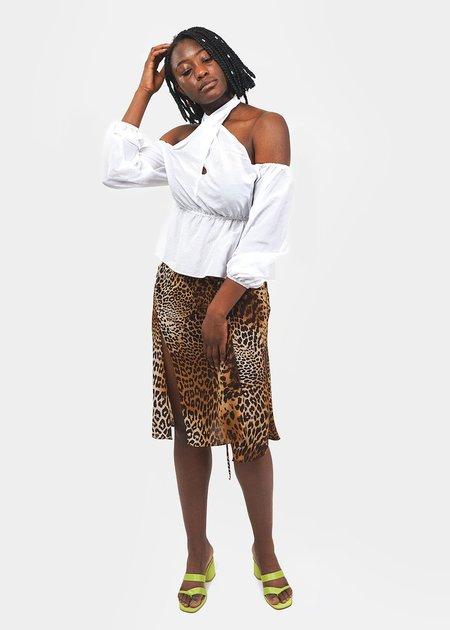 e98969ad51a384 ciao lucia Carlotta Skirt - Leopard ...
