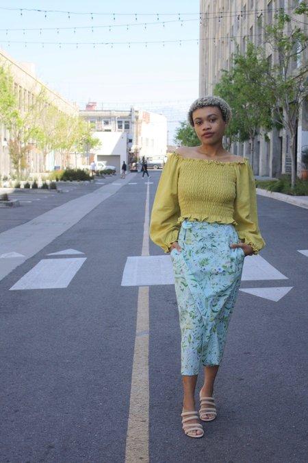 Samantha Pleet Tulip Skirt - Blooming