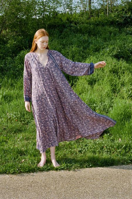 Natalie Martin Fiore Maxi Dress - Pink Coral