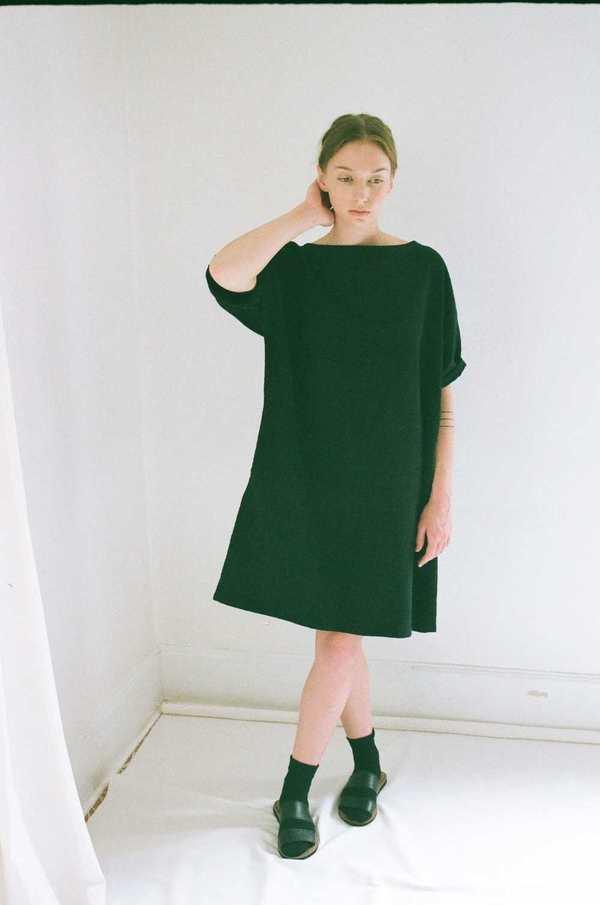Han Starnes Oversized Dress - Black