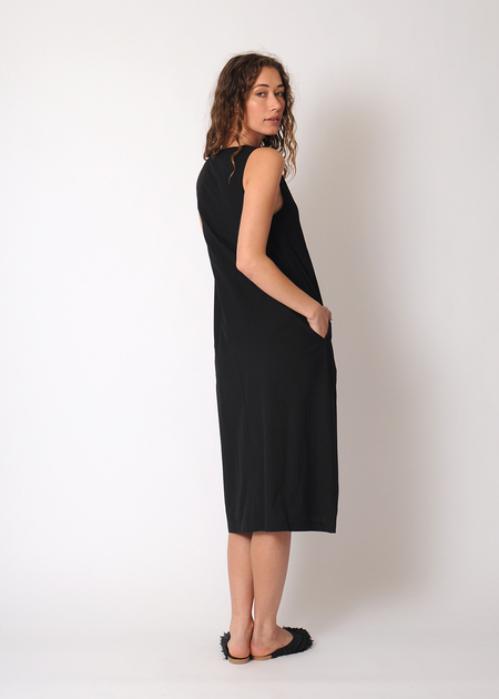 Rachel Antonoff Charlotte Button Down Dress - black