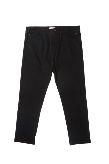 THE ODELLS + Damsel Chino Pant - BLACK