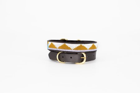 Ubuntu Life Pet Collar - Gold