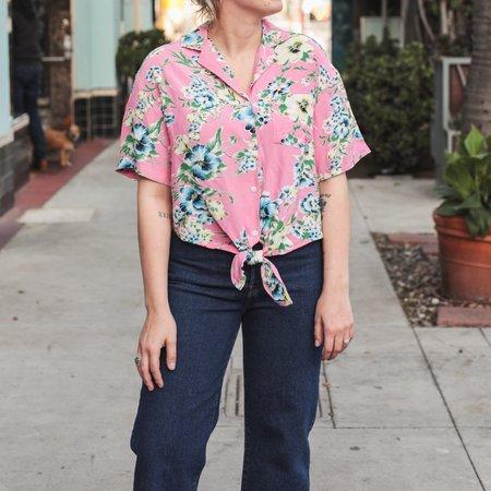 Levi's Clover Romantic Floral Shirt - Pink