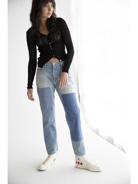 B Sides Arts Mid Straight Jeans - Hannah