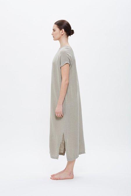 Black Crane Ester Dress - Sand
