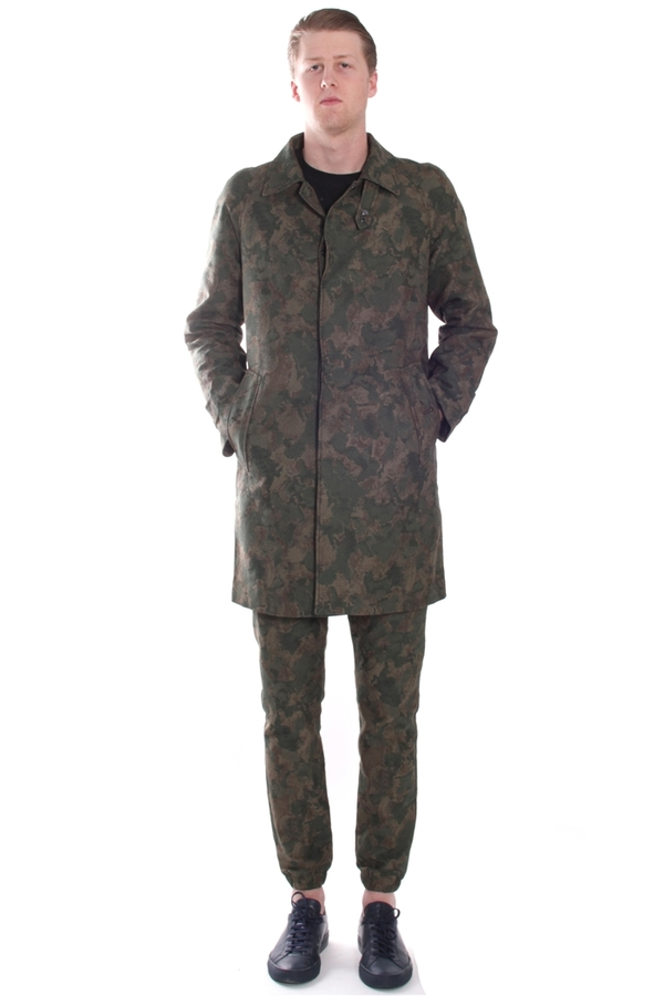 Men's Soulland Oda Coat Camo