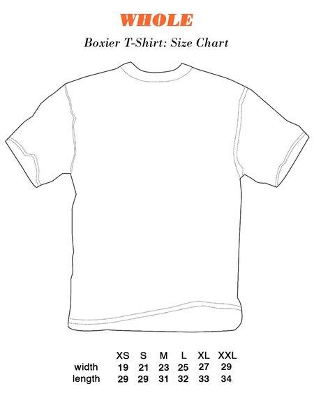 Unisex WHOLE Double Piercing T-Shirt - Off White