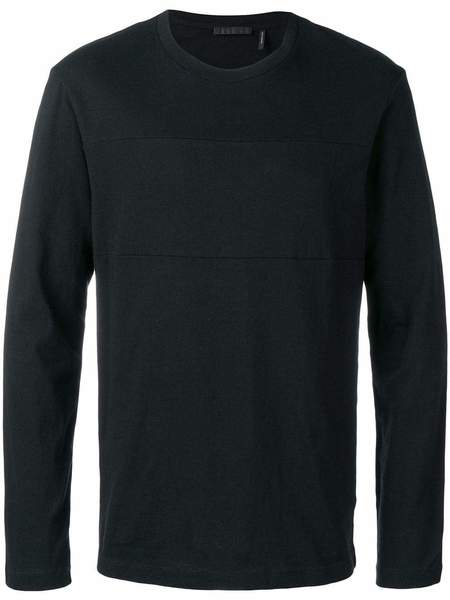 HELMUT LANG Long-sleeved Logo T-shirt - Black