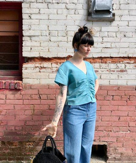 Rachel Comey Prima Top - Aqua