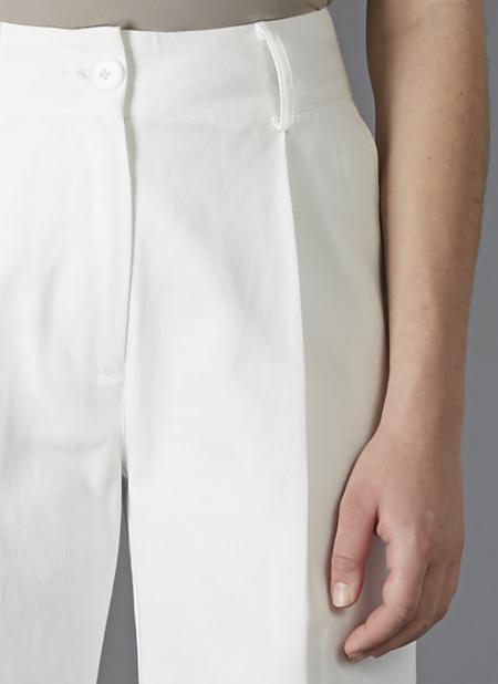 GREI WIDE WINI PANT - WHITE