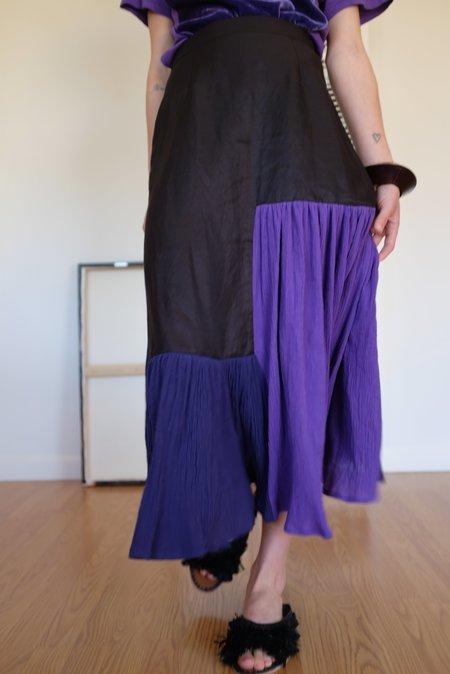 Correll Correll Flocco 19 Skirt - Black/Violet