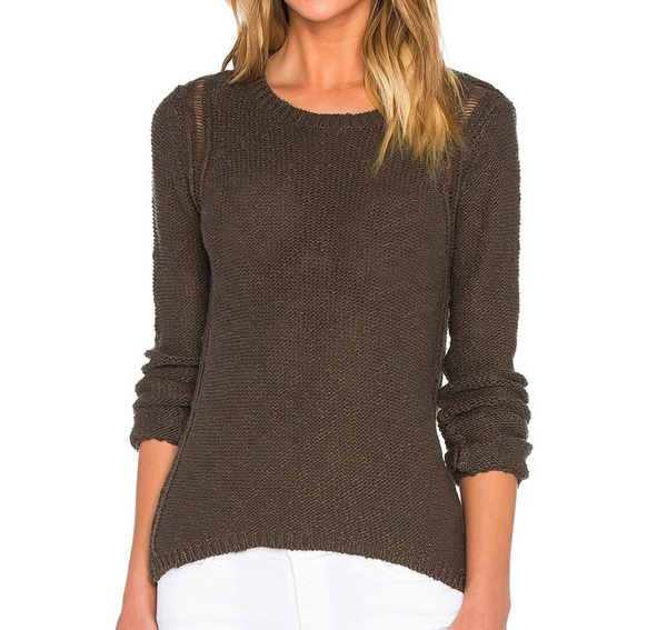 Line the Label Gavin Ladder Back Sweater