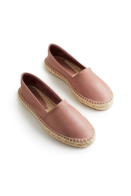 Lisa B. Espadrille Leather Classic - Pink