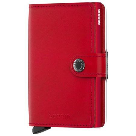 SECRID RFID Original Miniwallet - RED