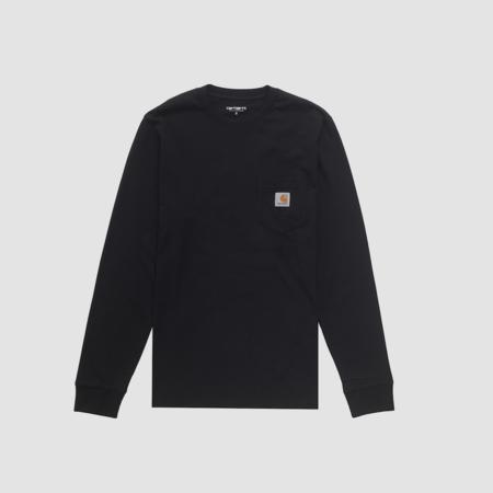 Carhartt Wip L/S Pocket T-Shirt - Black