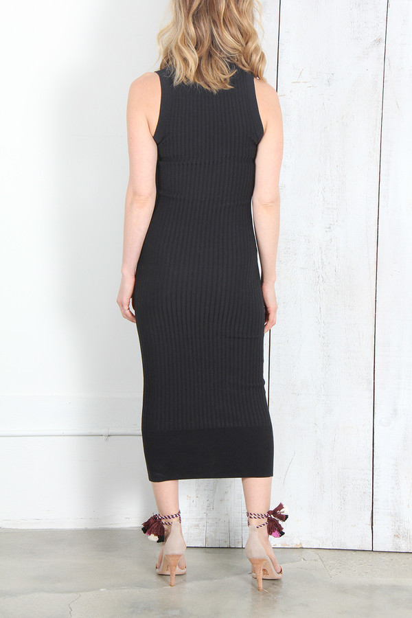 Acne Studios IMANI RIB KNIT DRESS