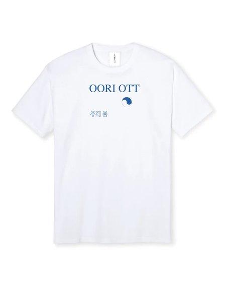 Oori Ott Oori World Tee - WHITE