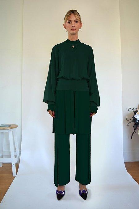 Oori Ott Romy Pullover - Deep Emerald
