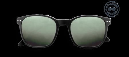 Unisex Izipizi Sun Nautic Polarized Lenses Sunglasses - Black