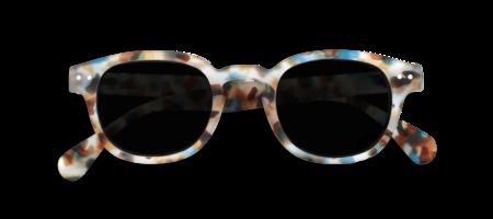 Izipizi #C Soft Grey Lenses Sunglasses - Blue Tortoise