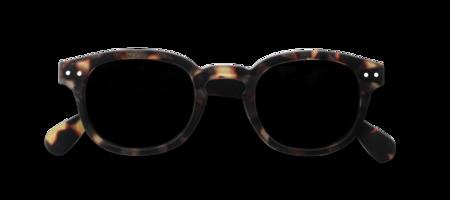 Izipizi Sunglasses #C Soft Grey Lenses - Tortoise