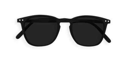 Izipizi Sunglasses # E Soft Grey Lenses - Black