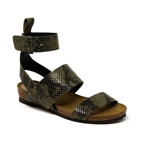Sylven New York Renegade Sandals - Taupe Snake