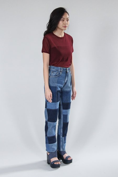 AndAgain The Patch Jeans - Blue