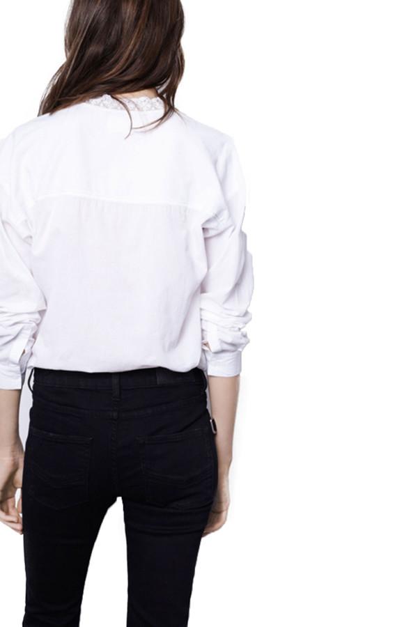 Zadig & Voltaire Turn Blouse I White