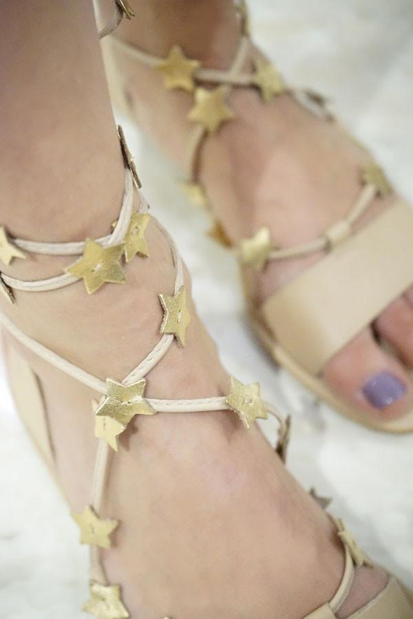 Loeffler Randall Starla Ankle Wrap Sandal