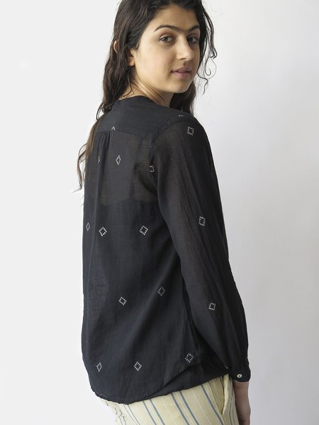 bsbee capri shirt - black